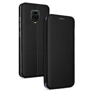 Funda Flip Cover Xiaomi Redmi Note 9S / Note 9 Pro Elegance Negro