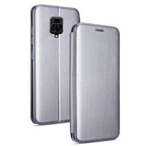 Funda Flip Cover Xiaomi Redmi Note 9S / Note 9 Pro Elegance Plata