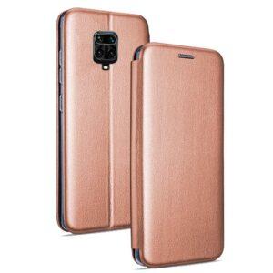 Funda Flip Cover Xiaomi Redmi Note 9S / Note 9 Pro Elegance Rose Gold