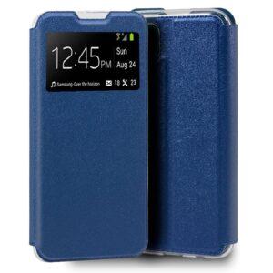 Funda Flip Cover Xiaomi Redmi Note 9S / Note 9 Pro Liso Azul