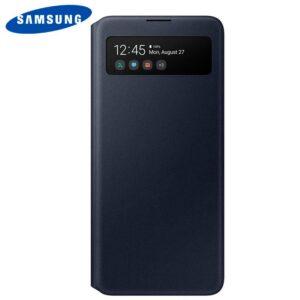 Funda Original Samsung A515 Galaxy A51 Wallet Cover S View Marino (Con Blister)