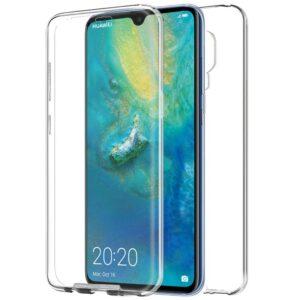 Funda Silicona 3D Huawei Mate 20 (Transparente Frontal + Trasera)