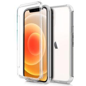 Funda Silicona 3D IPhone 12 Mini (Transparente Frontal + Trasera)