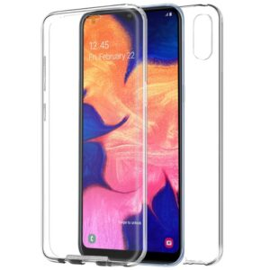 Funda Silicona 3D Samsung A105 Galaxy A10 Transparente Frontal + Trasera