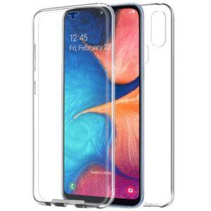 Funda Silicona 3D Samsung A202 Galaxy A20e Transparente Frontal + Trasera