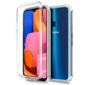 Funda Silicona 3D Samsung A207 Galaxy A20s Transparente Frontal + Trasera