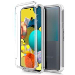 Funda Silicona 3D Samsung A515 Galaxy A51 5G (Transparente Frontal + Trasera)