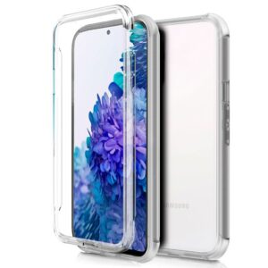 Funda Silicona 3D Samsung G780 Galaxy S20 FE (Transparente Frontal + Trasera)