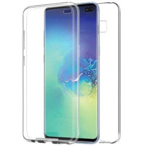 Funda Silicona 3D Samsung G975 Galaxy S10 Plus (Transparente Frontal + Trasera)