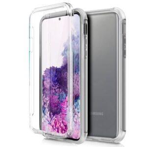 Funda Silicona 3D Samsung G980 Galaxy S20 (Transparente Frontal + Trasera)