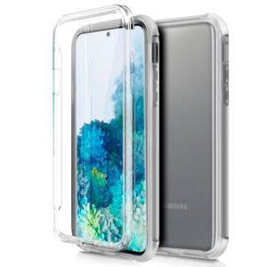 Funda Silicona 3D Samsung G985 Galaxy S20 Plus (Transparente Frontal + Trasera)