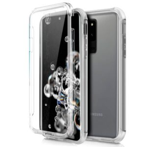 Funda Silicona 3D Samsung G988 Galaxy S20 Ultra 5G (Transparente Frontal + Trasera)