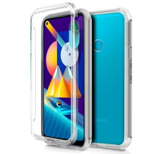 Funda Silicona 3D Samsung M115 Galaxy M11 / A11 (Transparente Frontal + Trasera)