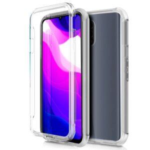 Funda Silicona 3D Xiaomi Mi 10 Lite Transparente Frontal + Trasera