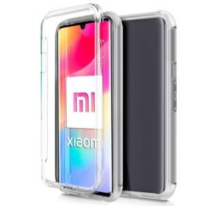 Funda Silicona 3D Xiaomi Mi Note 10 Lite Transparente Frontal + Trasera
