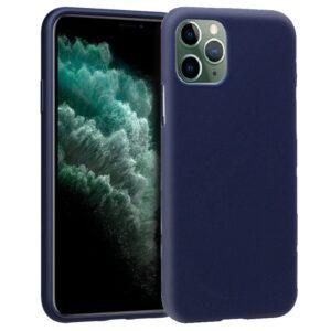 Funda Silicona IPhone 11 Pro Max (Azul)