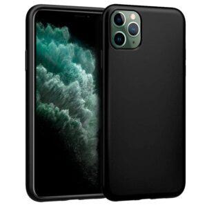 Funda Silicona IPhone 11 Pro Max (Negro)