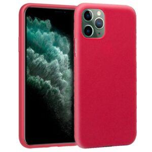 Funda Silicona IPhone 11 Pro Max (Rojo)