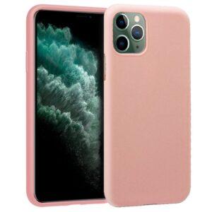 Funda Silicona IPhone 11 Pro Max (Rosa)