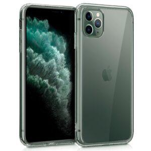 Funda Silicona IPhone 11 Pro Max (Transparente)