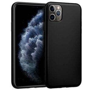 Funda Silicona IPhone 11 Pro (Negro)