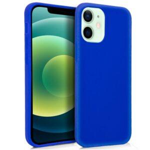 Funda Silicona IPhone 12 / 12 Pro (Azul)