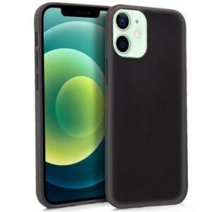 Funda Silicona IPhone 12 / 12 Pro (Negro)