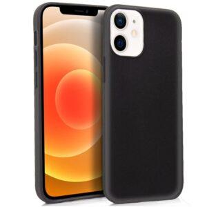 Funda Silicona IPhone 12 Mini (Negro)