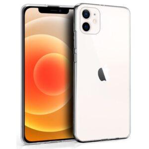 Funda Silicona IPhone 12 Mini (Transparente)