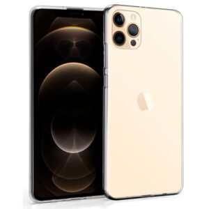Funda Silicona IPhone 12 Pro Max (Transparente)