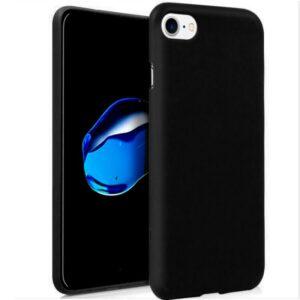 Funda Silicona IPhone 7 / 8 / SE (2020) (Negro)