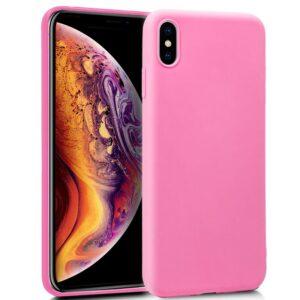 Funda Silicona IPhone XS Max (Rosa)