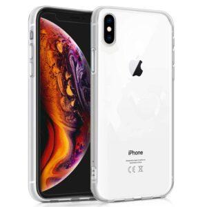 Funda Silicona IPhone XS Max (Transparente)