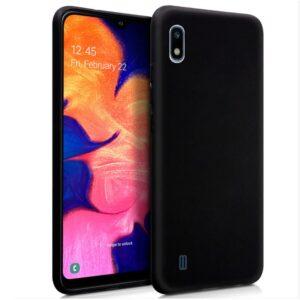 Funda Silicona Samsung A105 Galaxy A10 Negro