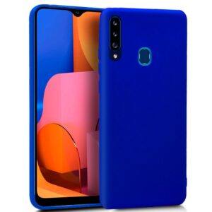 Funda Silicona Samsung A207 Galaxy A20s Azul