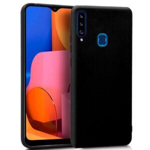 Funda Silicona Samsung A207 Galaxy A20s Negro