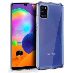 Funda Silicona Samsung A315 Galaxy A31 (Transparente)