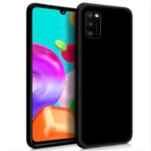 Funda Silicona Samsung A415 Galaxy A41 (Negro)
