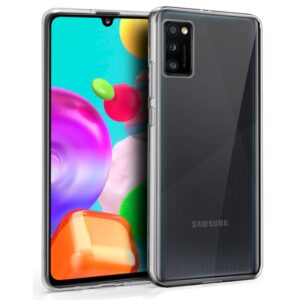 Funda Silicona Samsung A415 Galaxy A41 (Transparente)