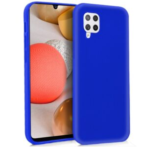 Funda Silicona Samsung A426 Galaxy A42 5G (Azul)