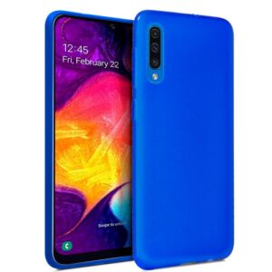 Funda Silicona Samsung A505 Galaxy A50 / A30s (Azul)