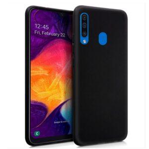 Funda Silicona Samsung A505 Galaxy A50 / A30s (Negro)