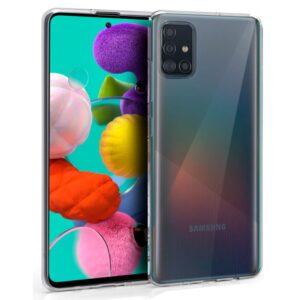 Funda Silicona Samsung A515 Galaxy A51 (Transparente)