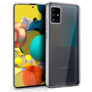 Funda Silicona Samsung A516 Galaxy A51 5G (Transparente)