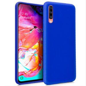 Funda Silicona Samsung A705 Galaxy A70 (Azul)