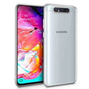 Funda Silicona Samsung A805 Galaxy A80 (Transparente)