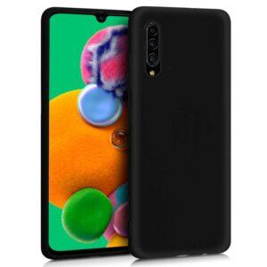 Funda Silicona Samsung A908 Galaxy A90 5G (Negro)