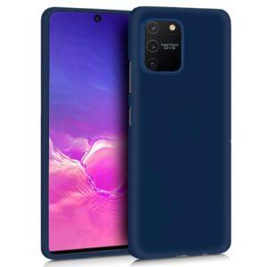 Funda Silicona Samsung G770 Galaxy S10 Lite (Azul)