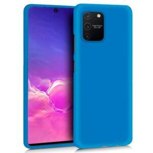 Funda Silicona Samsung G770 Galaxy S10 Lite (Celeste)