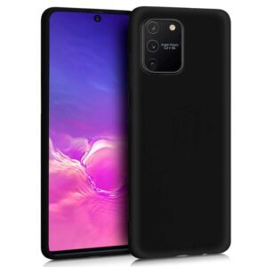 Funda Silicona Samsung G770 Galaxy S10 Lite (Negro)